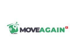 Logo MoveAgain, Partenaire de PlanYourMove, L'assistant personnel du déménagement