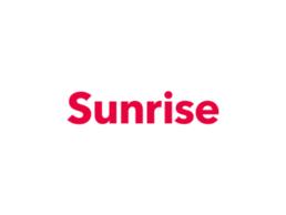 Logo Sunrise, Partenaire de PlanYourMove, L'assistant personnel du déménagement