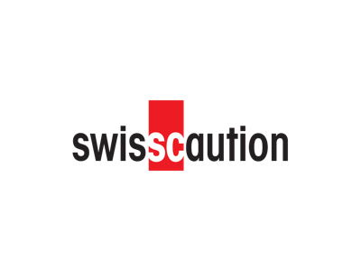 Logo SwissCaution, partner PlanYourMove, personnal moving assistant