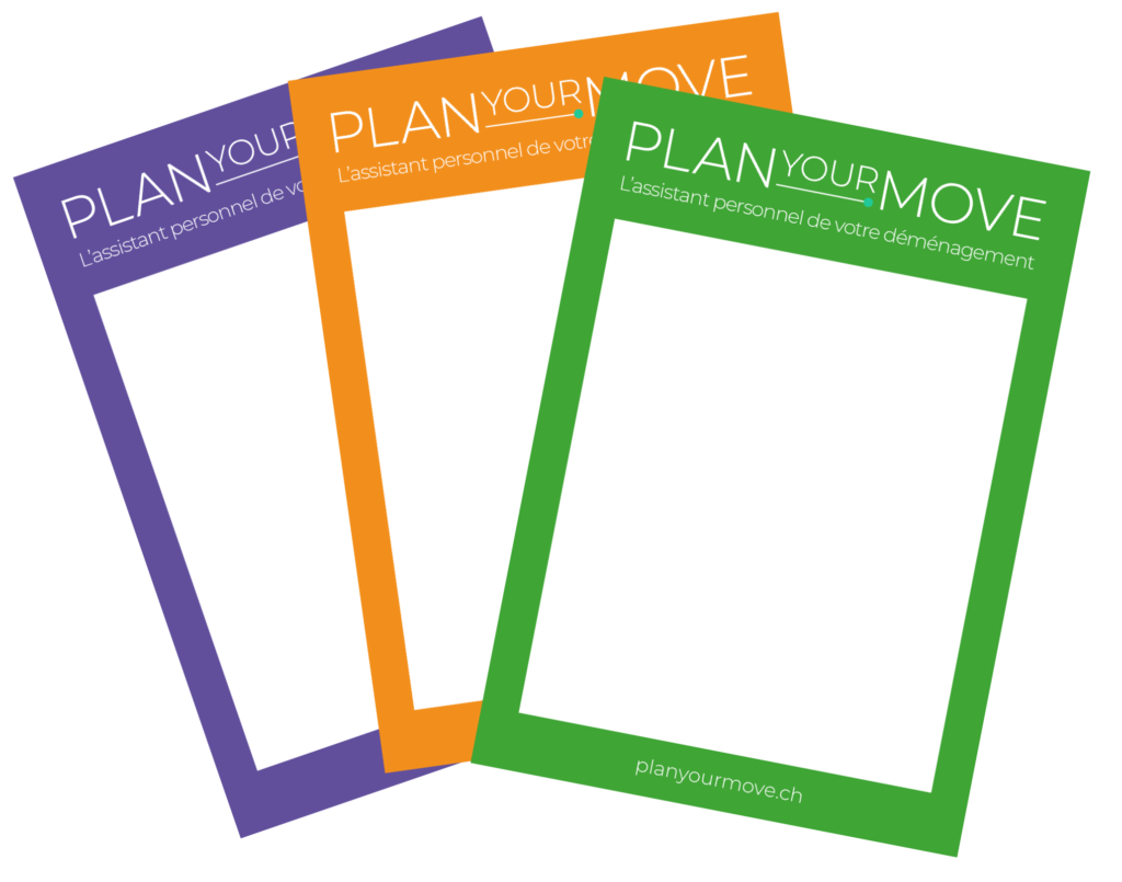 PlanYourMove Application Demenagement Stickers Cartons