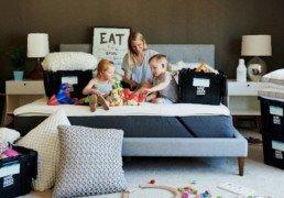 PlanYourMove Famille Demenagement Cartons Boites Jeu Enfants