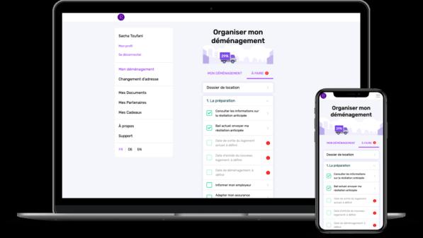 iphone - application - organiser mon déménagement - plan your move